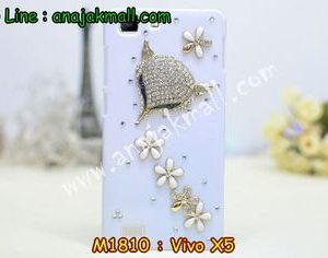 M1810-08 เคสประดับ Vivo X5 ลาย Fox Flower