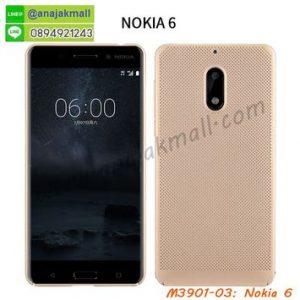 M3901-03 เคสระบายความร้อน Nokia 6 สีทอง