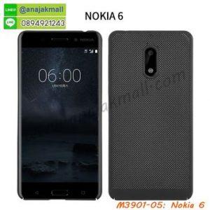M3901-05 เคสระบายความร้อน Nokia 6 สีดำ