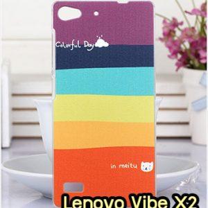 M1326-01 เคสแข็ง Lenovo Vibe X2 ลาย Colorfull Day