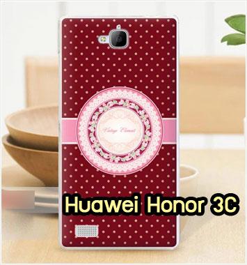 M755-26 เคสแข็ง Huawei Honor 3C ลาย Vintage