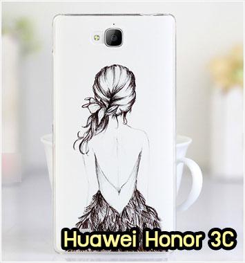 M755-28 เคสแข็ง Huawei Honor 3C ลาย Women