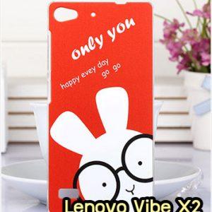 M1326-12 เคสแข็ง Lenovo Vibe X2 ลาย Red Rabbit