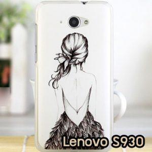 M622-12 เคสแข็ง Lenovo S930 ลาย Women