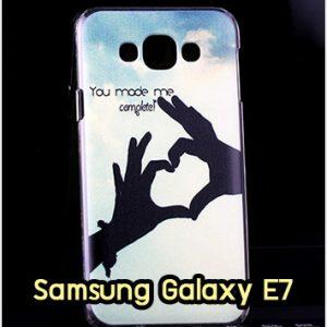 M1323-11 เคสแข็ง Samsung Galaxy E7 ลาย My Heart