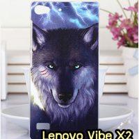 M1326-13 เคสแข็ง Lenovo Vibe X2 ลาย Wolf