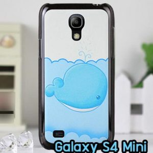 M862-08 เคสแข็ง Samsung Galaxy S4 Mini ลายปลาวาฬ