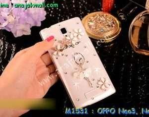 M1531-05 เคสประดับ OPPO Neo3/Neo5 ลาย ลาย Ballet Flower