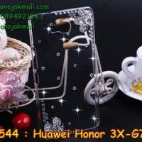 M1544-04 เคสประดับ Huawei Honor 3X ลาย Fresh Flower