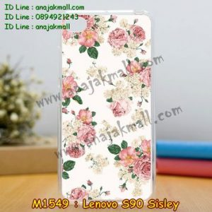 M1549-28 เคสซิลิโคน Lenovo S90 Sisley ลาย Flower I