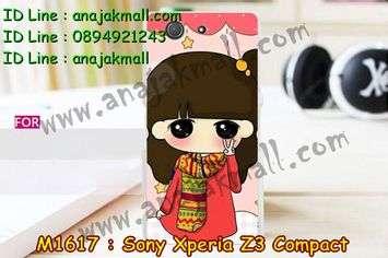 M1617-28 เคสแข็ง Sony Xperia Z3 Compact ลายฟินฟิน