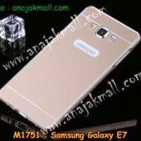 M1751-01 เคสอลูมิเนียม Samsung Galaxy E7 สีทอง B
