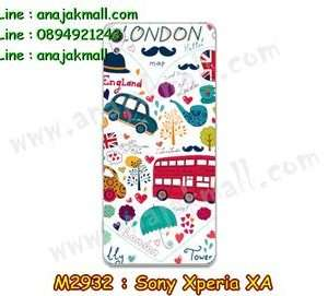 M2932-17 เคสแข็ง Sony Xperia XA ลาย London