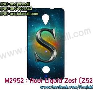 M2952-12 เคสยาง Acer Liquid Zest (Z525) ลาย Super S
