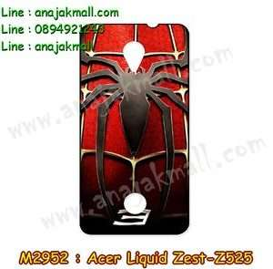M2952-19 เคสยาง Acer Liquid Zest (Z525) ลาย Spider
