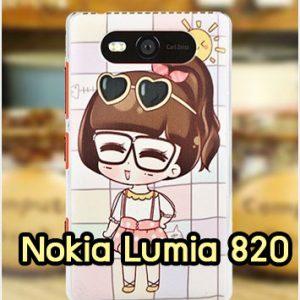 M1142-09 เคสแข็ง Nokia Lumia 820 ลาย NooNan