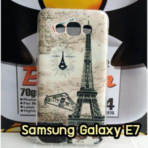 M1408-01 เคสซิลิโคน Samsung Galaxy E7 ลายหอไอเฟล I