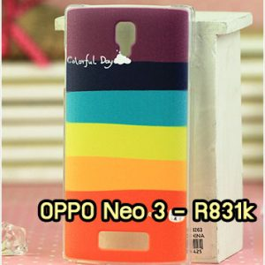 M870-32 เคสแข็ง OPPO Neo3/Neo5 ลาย Colorfull Day