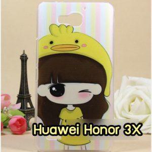 M959-39 เคสแข็ง Huawei Honor 3X ลายรุกุโกะ