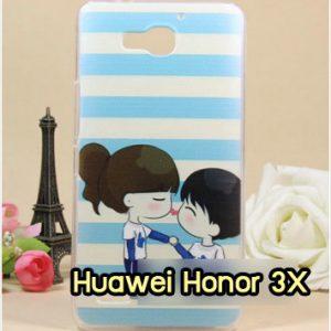 M959-40 เคสแข็ง Huawei Honor 3X ลาย Love