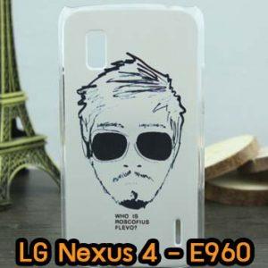 M618-08 เคสแข็ง LG Nexus 4 - E960 ลาย Mansome