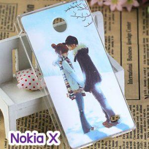 M748-03 เคสแข็ง Nokia X ลายฟูโตะ