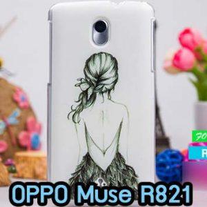 M274-09 เคสแข็ง OPPO Find Muse R821 ลาย Women