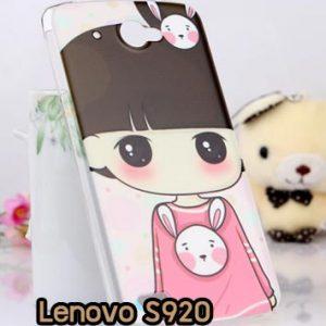 M830-12 เคสแข็ง Lenovo S920 ลาย Rabbit