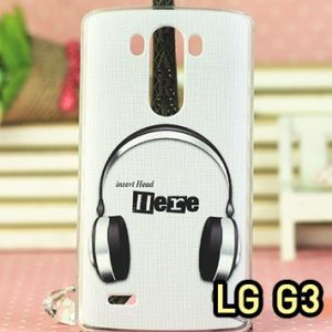 M804-06 เคสแข็ง LG G3 ลาย Music