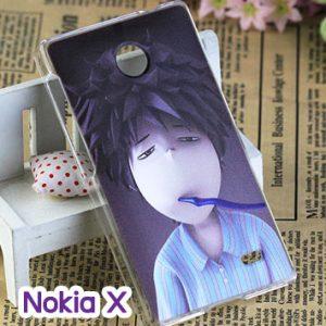 M748-09 เคสแข็ง Nokia X ลาย Boy