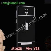 M1628-05 เคสอลูมิเนียม Vivo Y28 สีดำ