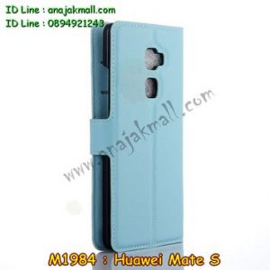 M1984-05 เคสฝาพับ Huawei Mate S สีฟ้า