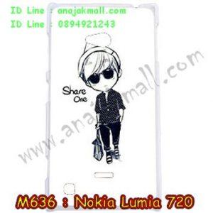 M636-08 เคสแข็ง Nokia Lumia 720 ลาย Share One