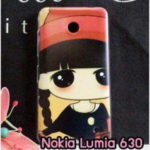 M827-10 เคสแข็ง Nokia Lumia 630 ลายเปโกะจัง