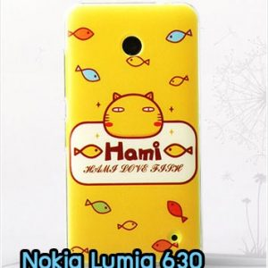 M827-02 เคสแข็ง Nokia Lumia 630 ลาย Hami