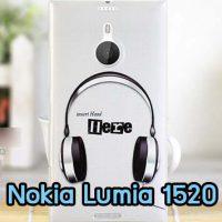 M666-03 เคสแข็ง Nokia Lumia 1520 ลาย Music