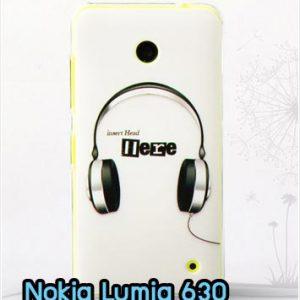 M827-03 เคสแข็ง Nokia Lumia 630 ลาย Music