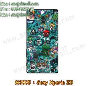 M3005-12 เคสแข็ง Sony Xperia Z5 ลาย JinUp