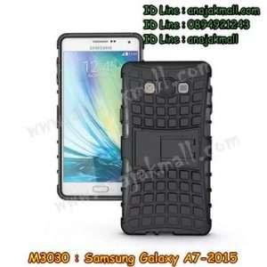 M3030-04 เคสทูโทน Samsung Galaxy A7 สีดำ