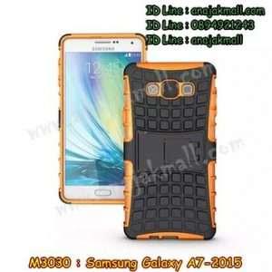 M3030-08 เคสทูโทน Samsung Galaxy A7 สีส้ม
