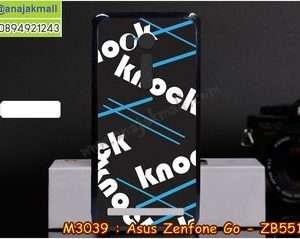M3039-01 เคสแข็ง Asus Zenfone GO-ZB551KL ลาย KnockKnock
