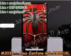 M3039-05 เคสแข็ง Asus Zenfone GO-ZB551KL ลาย Spider