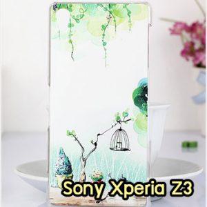 M1002-06 เคสแข็ง Sony Xperia Z3 ลาย Nature