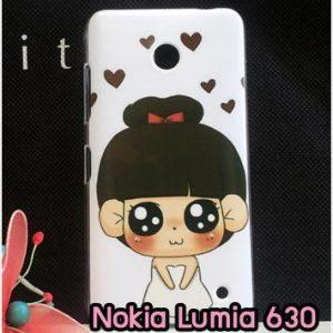 M827-07 เคสแข็ง Nokia Lumia 630 ลายมินิโกะ