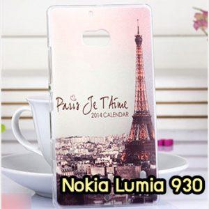 M952-12 เคสแข็ง Nokia Lumia 930 ลายหอไอเฟล