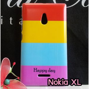 M753-12 เคสแข็ง Nokia XL ลาย Happy Day