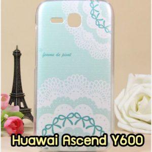 M881-03 เคสแข็ง Huawei Ascend Y600 ลาย Flower I