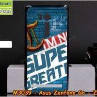 M3039-15 เคสแข็ง Asus Zenfone GO-ZB551KL ลาย Super