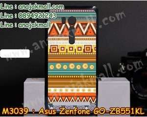 M3039-19 เคสแข็ง Asus Zenfone GO-ZB551KL ลาย Graphic II