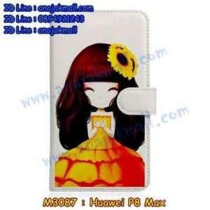 M3087-09 เคสหนังฝาพับ Huawei P8 Max ลาย Orimony